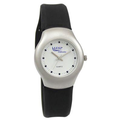 lamarca-brindes - Relógio de pulso com mostrador branco