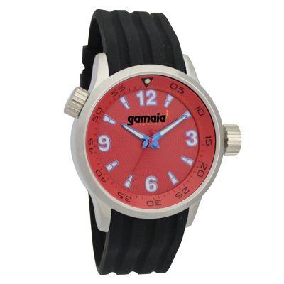 lamarca-brindes - Relógio de pulso com mostrador vermelho