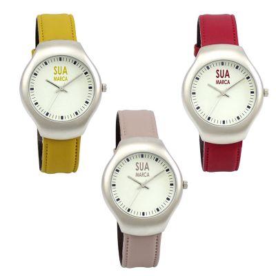 Lamarca Brindes - Relógio de pulso em sintético.