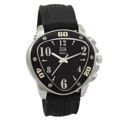 Lamarca Brindes - Relógio de pulso, com embalagem individual.