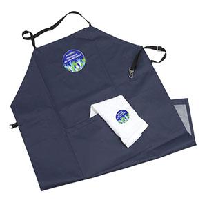 Avental personalizado com bolso frontal - Opção Promocional