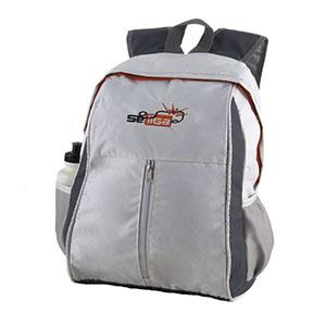 Opção Promocional - Com porta squeeze, bolso em tela na lateral e porta notebook personalizada