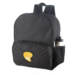 opcao-promocional - Com bolso frontal e porta squeeze na lateral personalizada.