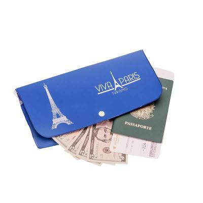 Opção Promocional - Porta-voucher personalizada.