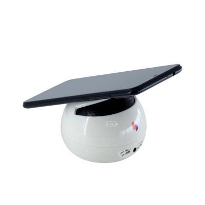 Caixa de Som com apoio antideslizante