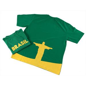 Opção Promocional - Camiseta confeccionada em malha 100% em algodão.