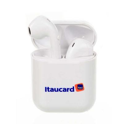 Fone de ouvido Wireless (sem fio), impressão COLORIDA UV, modelo i9, Compatível com celulares And...