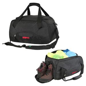 Curtlo - Mala personalizada para academia ou viagens de final de semana, com compartimento para tênis ou roupa suja.