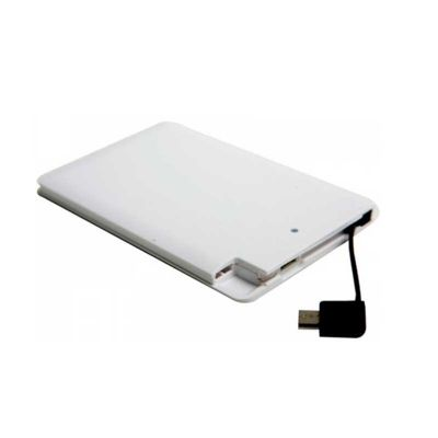 Power Bank ultra fino - NTP Brindes