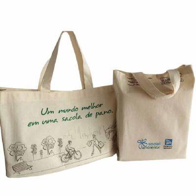 Embalatudo do Brasil - Sacola ecológica algodão