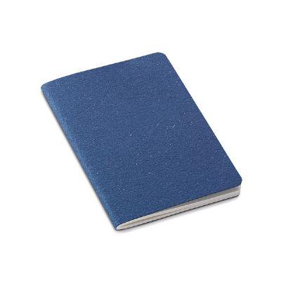 sr-pack - Bloco de anotações. Cartão reciclado. Com 30 folhas não pautadas de papel reciclado.