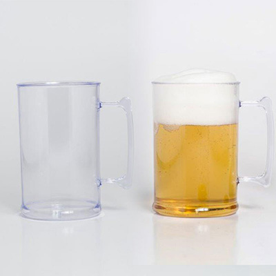 SR Pack - Caneca de Chopp transparente 600ml