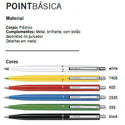 sr-pack - Caneta plástica com complemento em metal