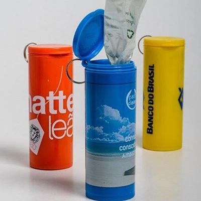 sr-pack - Packclean - Tubo com 15 saquinhos biodegradáveis