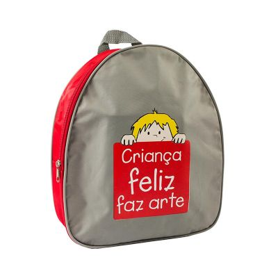 Mochila Infantil Personalizada - Abrange