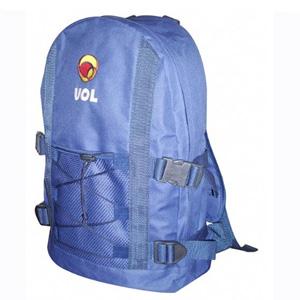 - Mochila mod. MS01, confeccionada em Poliéster 600, com bolsa externa, porta squeeze e personalização com bordado. Pode ser fabricada em diversos mater...