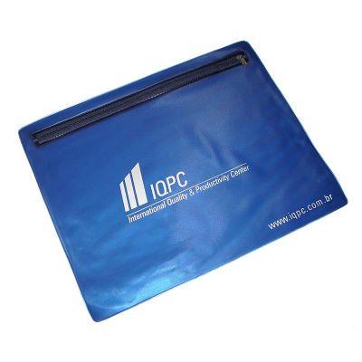 Abrange - Pastas envelope com Zíper emm PVC