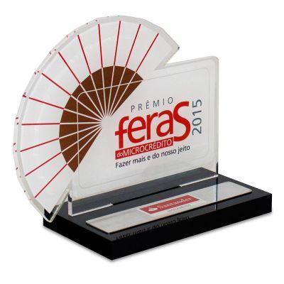 Acril Designer - Troféu Prêmio Feras do Microcrédito