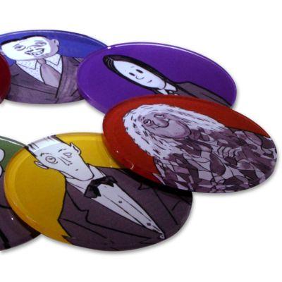 Acril Designer - Porta Copos A Família Addams