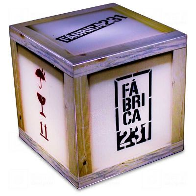 Cubo Rocco Fábrica 231 - Bilateral Promocionais