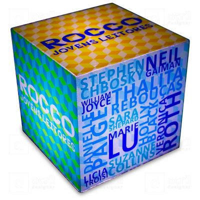 Acril Designer - Cubo Rocco Jovens Leitores