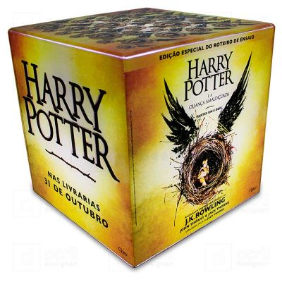 Acril Designer - Cubo Rocco Luz Harry Potter