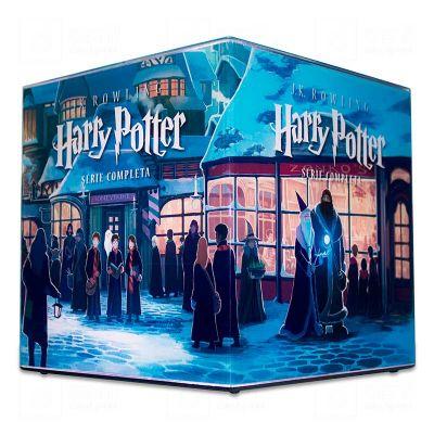 Cubo Rocco Luz Harry Potter Serie Completa