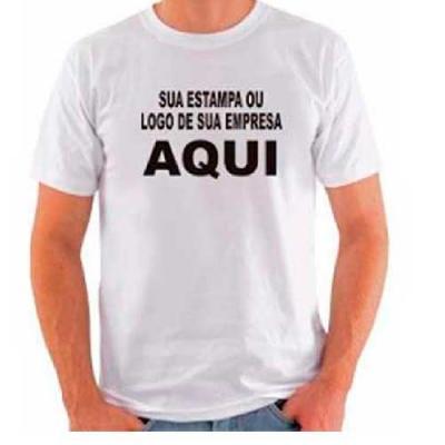 Camiseta personalizada de fio Penteado 30.1 é o que temos de melhor em qualidade e durabilidade. ...