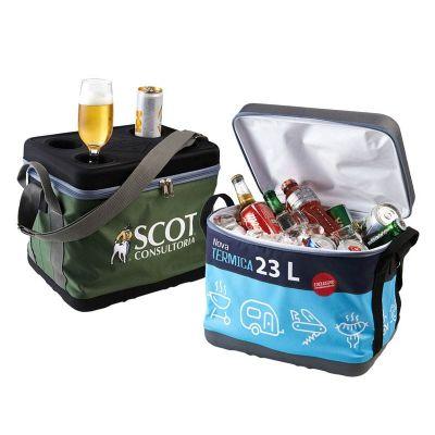 Rampazzo Brindes Especiais - Cooler dobrável para 24 latinhas.