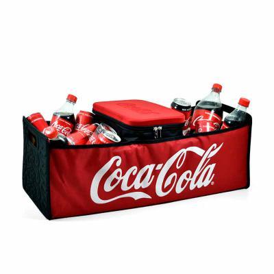 rampazzo-brindes-especiais - Produto 2 em 1: pode funcionar como sacola para compras com alça lateral ou ainda como térmica que pode ser acoplada na sacola.  Pequena e flexível, e...