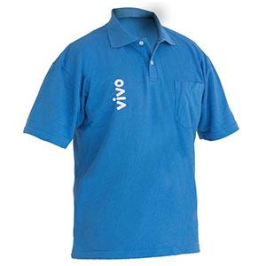 Camisetas Promocionais - Camisa polo com malha pique e estampa em silk.