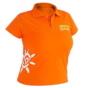 Camisetas Promocionais - Camisa polo com estampa personalizada.