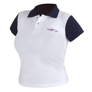 Camisetas Promocionais - Camisa polo com malha piquet e bordado lateral.