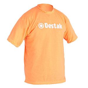 camisetas-promocionais - Camiseta gola careca, malha fria / malha penteada / cardada e estampa em silk.