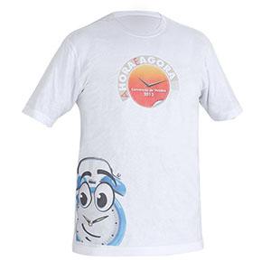 camisetas-promocionais - Camiseta gola careca personalizada.
