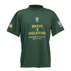camisetas-promocionais - Camiseta gola V com malha dryfit.
