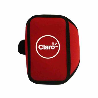 brinde-e-leve - Braçadeira para celular personalizada em neoprene