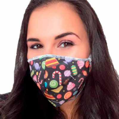Máscara de Proteção em Tecido Personalizada