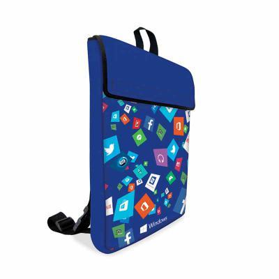 brinde-e-leve - Mochila Notebook em Neoprene com Bolso
