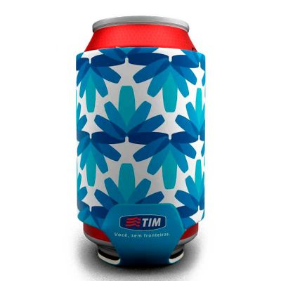 brinde-e-leve - Porta latas personalizado em neoprene