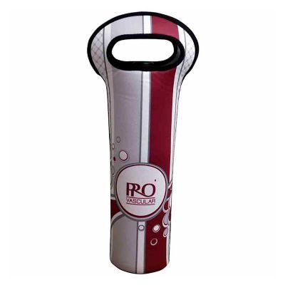 brinde-e-leve - Porta vinho personalizado em neoprene