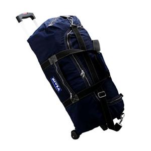 Bolsa de viagem com carrinho.
