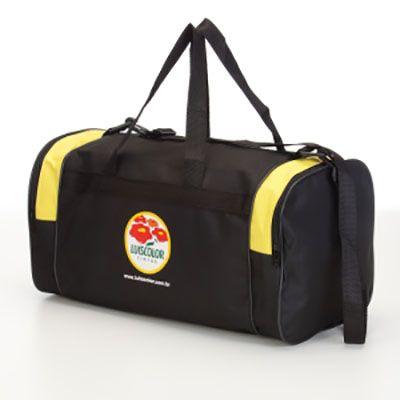 Super Brindes - Bolsa de viagem personalizada.