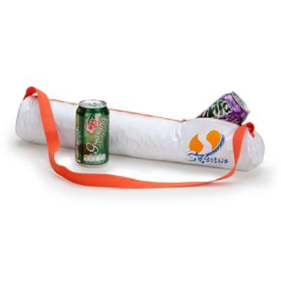 - Porta lata térmico em pvc soldado, cap.04 latas dim. 50x07cm