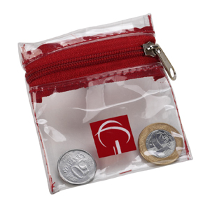 Porta moedas personalizado