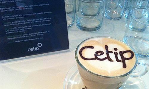 Café gourmet para fechar o evento com muito estilo.