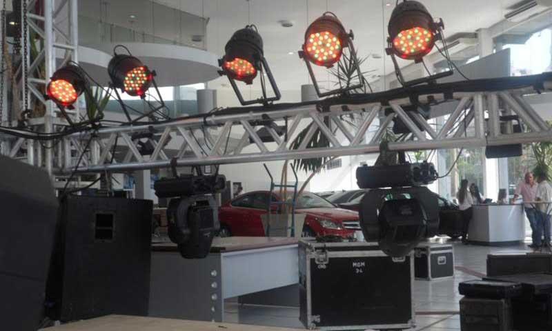 Iluminação - Prado locações e eventos