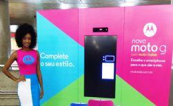 Motorola cria ação diferenciada para promover nova geração do Moto G