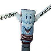 Boneco inflável com formato personalizado e logotipo digital. Surpreenda os seus clientes com produtos criativos!