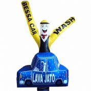 Boneco inflável personalizado. Satisfação garantida para os seus clientes!